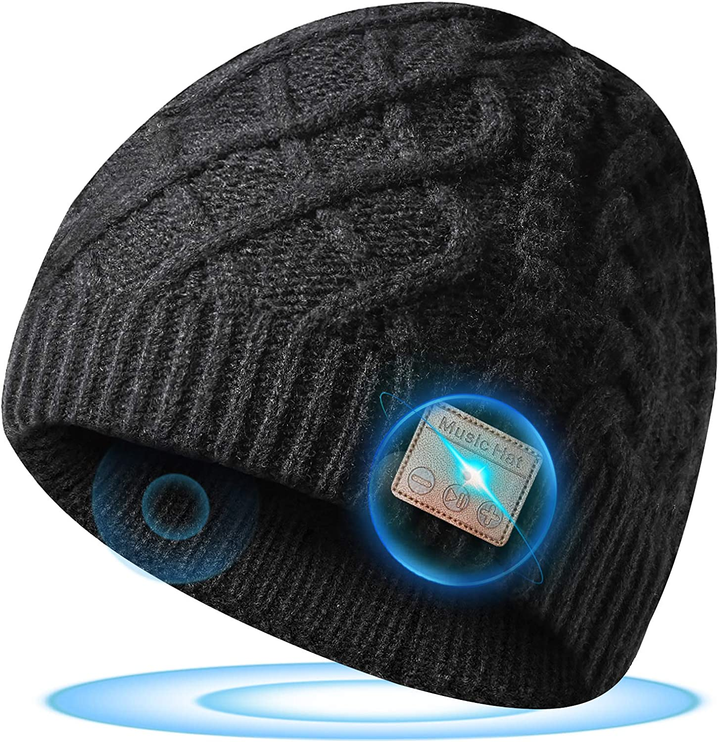 Bluetooth Beanie Hat, Gifts for Men and Women, Stocking Stuffers for Men and Women (Bluetooth Beanie)