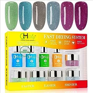 Amazon.com: GH Dip Powder Nail Kit Acrylic Nail Dip Powder