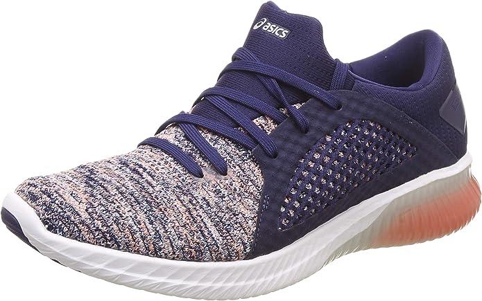 Asics Gel-Kenun Knit Womens Zapatillas para Correr - 44: Amazon.es: Zapatos y complementos