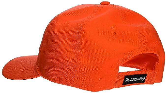 Browning Tapa 3D Gorra, Unisex Adulto, Naranja, Talla Única: Amazon.es: Deportes y aire libre