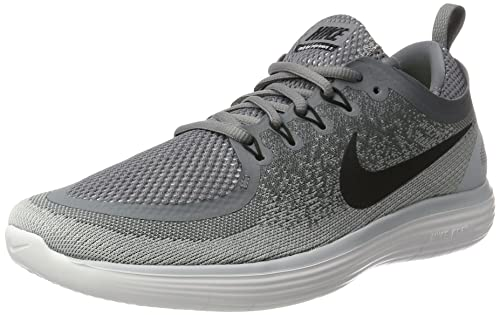 8e36c847240c Nike Men s Free Rn Distance 2 Cool Grey Black Wolf Grey Running Shoe (12)   Buy Online at Low Prices in India - Amazon.in