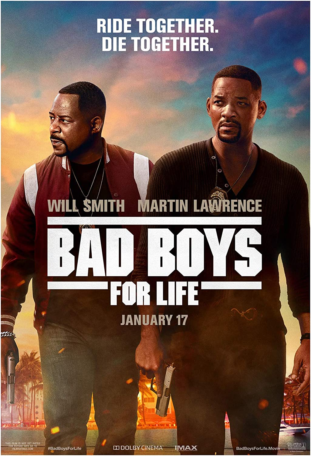 Bad Boys for Life Movie Poster 24 x 36 Inches USA Shipped Print - Ready for Display (2020) (Poster Version B)