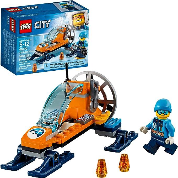 LEGO City Orange Arctic Cockpit Nosing Vehicle Base