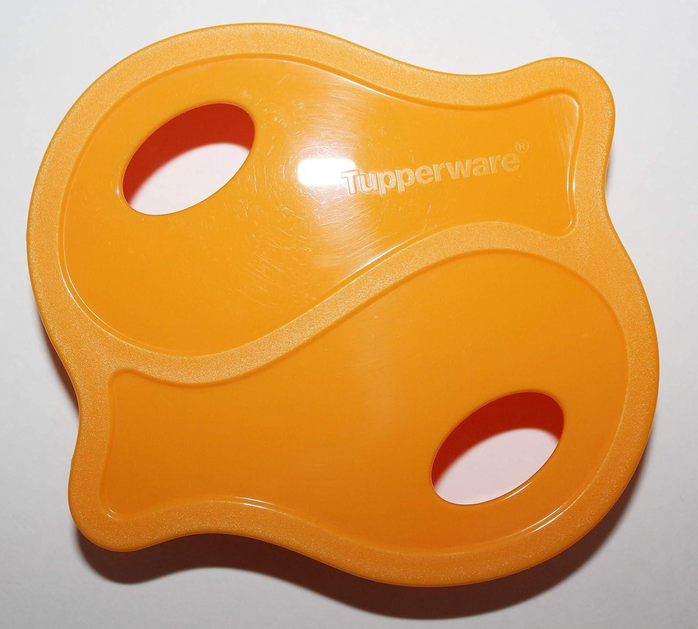 Vintage Tupperware Cookie Cutter 5 pc Set Orange