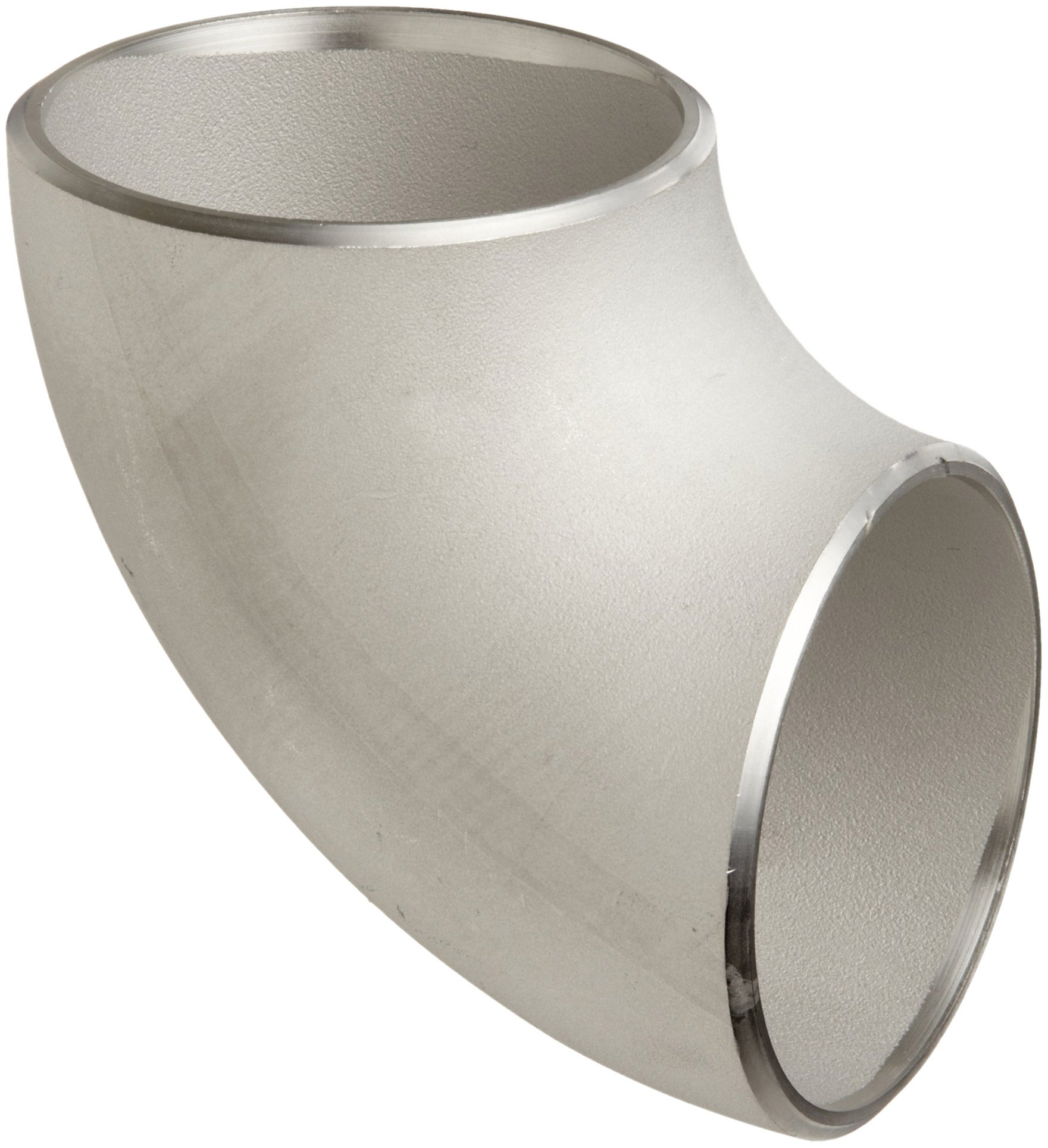 Stainless Steel 316/316L Butt-Weld Pipe Fitting, Short Radius 90 Degree Elbow, Schedule 10, 3'' Pipe Size
