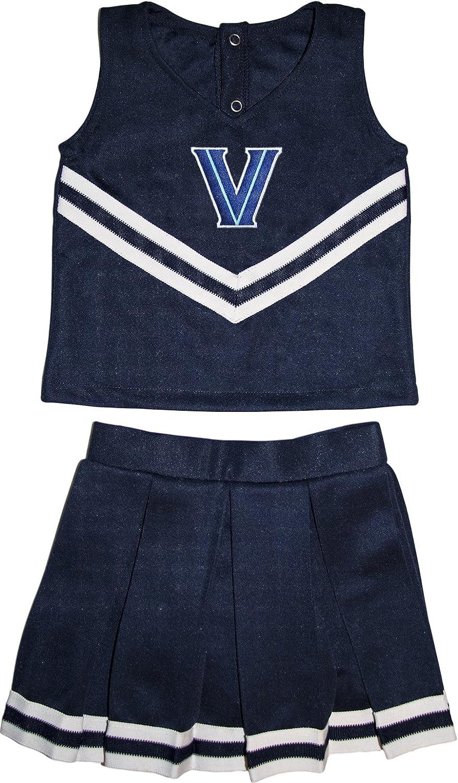 Creative Knitwear Villanova University Wildcats Toddler and Youth 3-Piece Cheerleader Dress