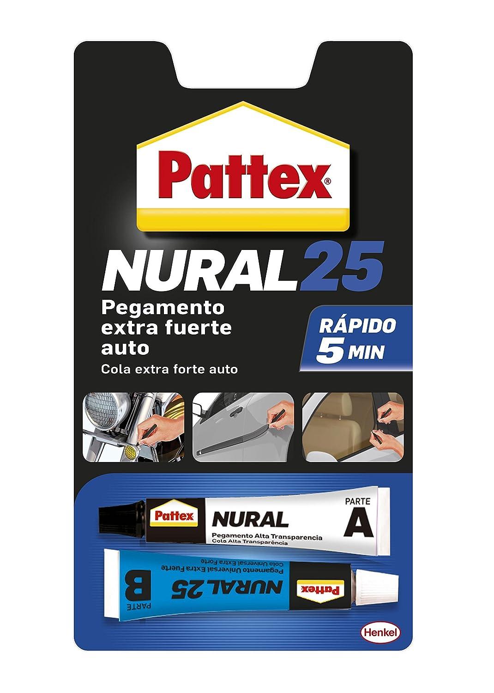 Pattex Nural 25, adhesivo extrafuerte para automóviles, 22ml: Amazon.es: Industria, empresas y ciencia