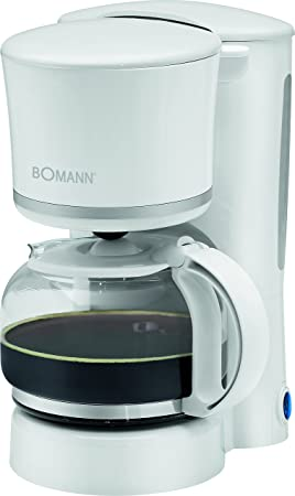Bomann KA 1575 - Cafetera eléctrica de goteo automática, máquina café de filtro capacidad 8