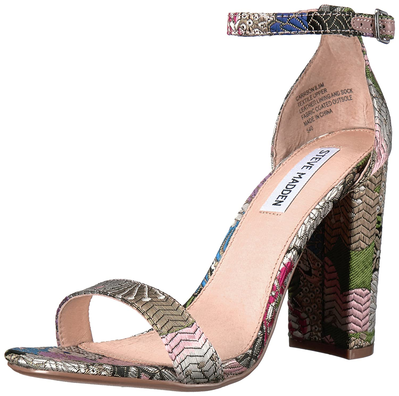 Steve Madden Women's Carrson Dress Sandal B06XC6JLY9 8.5 B(M) US|Bright Multi