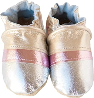 product image for GALENA Handmade in USA, All-Natural Leather Baby Shoes.