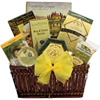 GreatArrivals Gift Baskets Tempting Easter Cheese Delights: Gourmet Cheese Gift Basket, 1814.37 Grams