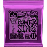 Ernie Ball Power Slinky Nickel Wound Sets, .011 - .048 (3 Pack)