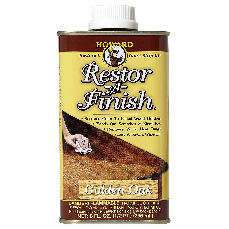 Howard Restor-A-Finish Golden Oak 8oz by Howard