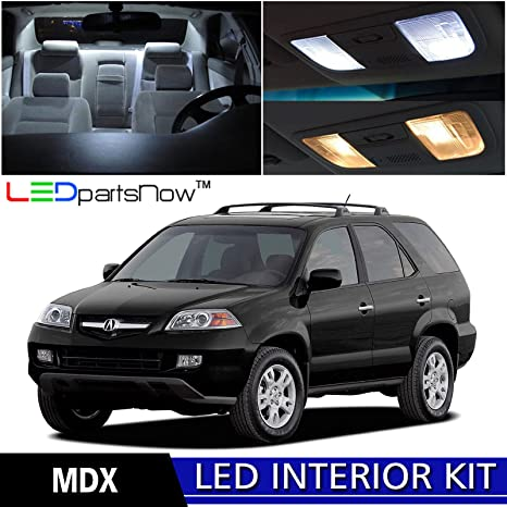 Amazoncom LEDpartsNow Acura MDX LED Interior Lights - Acura mdx accessories