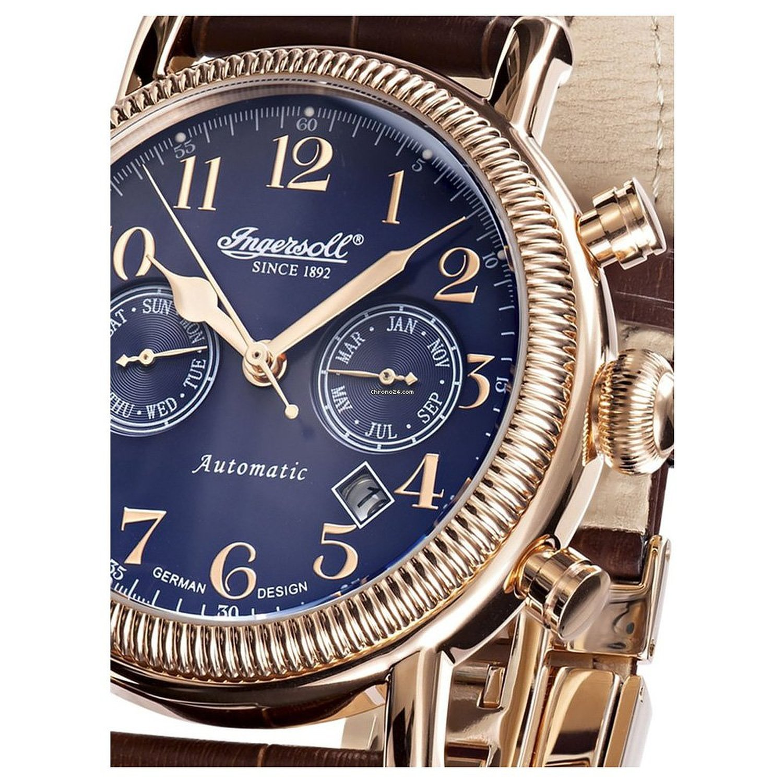 Reloj De Pulsera Hombre Ingersoll - Butterfield de in1828rbl: Amazon.es: Relojes