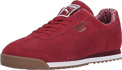 PUMA Roma Men's Suede Paisley Sneaker