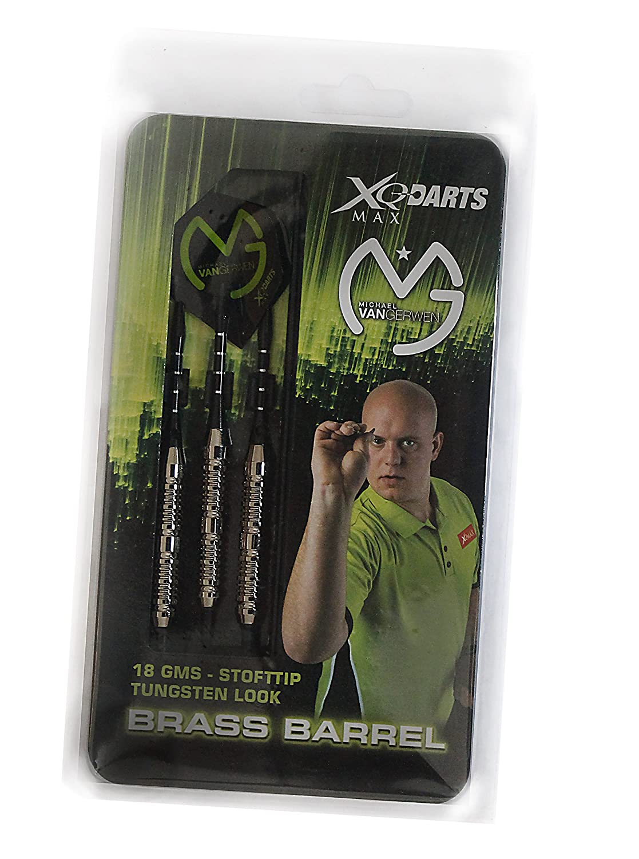 Michael van Gerwen original Soft Darts Case 18g Brass Barrel