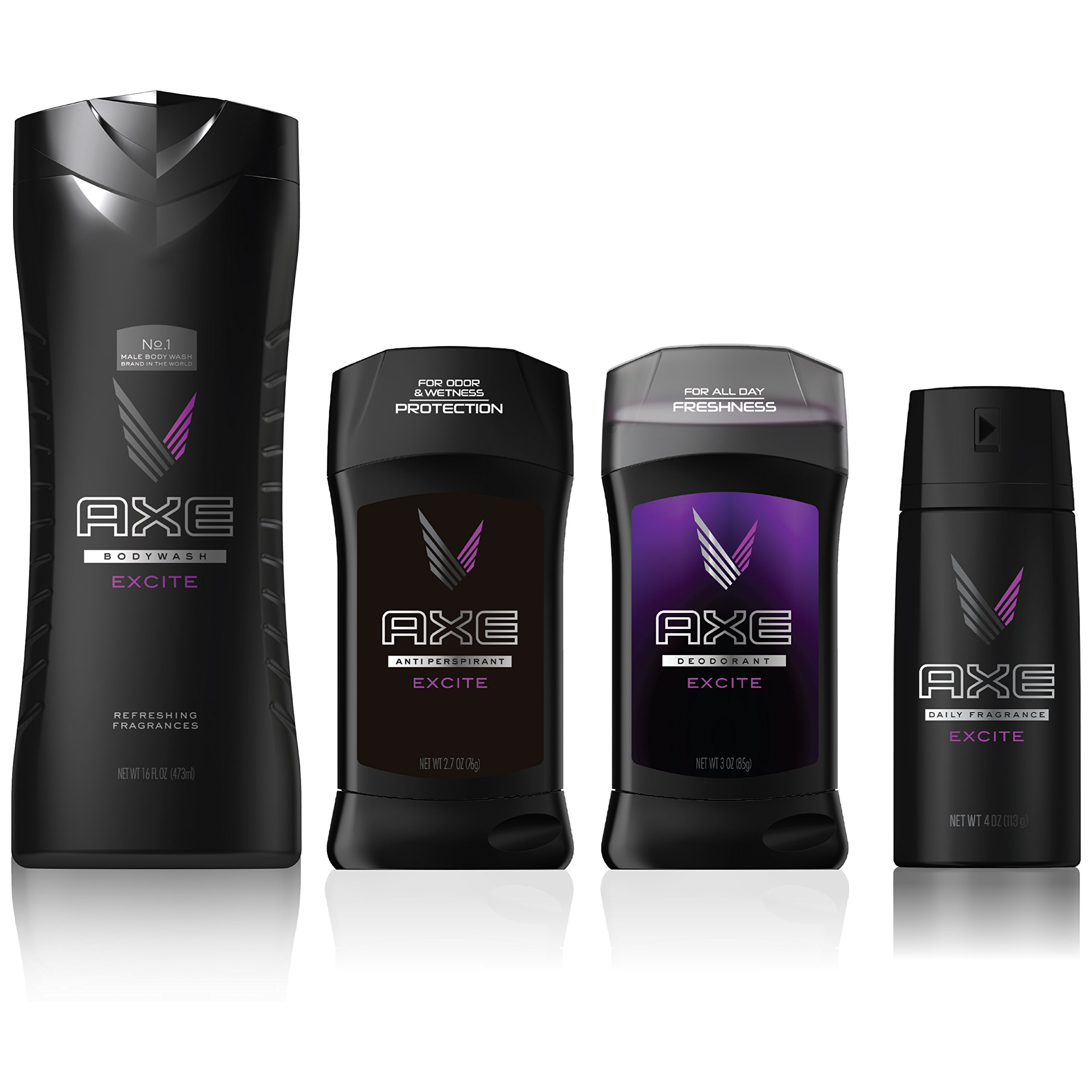 AXE Antiperspirant Deodorant Stick for Men, Excite, 2.7 Ounce (Pack of 6) by AXE (Image #4)