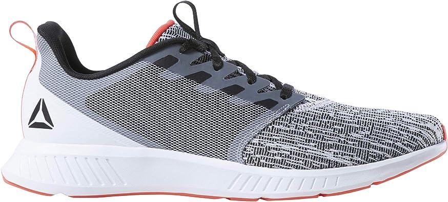 Reebok FUSIUM Lite, Zapatillas de Trail Running para Hombre, Multicolor (White/Black/Neon Red 000), 46 EU: Amazon.es: Zapatos y complementos