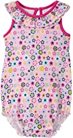 Zutano Flower Shower Ruffle Bubble (Baby)