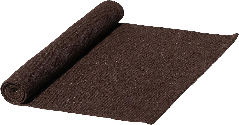Amazon Com Clearance Sale Souvnear Brown Yoga Mat 72 Inch Handmade Premium Thick Cotton Yoga Mat Rug X Long Cotton Yoga Mat Free Travel Sling Bag Set Premium Exercise Fitness Workout