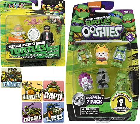 Amazon.com: Assortment TMNT Mini & Squishy Series Teenage ...