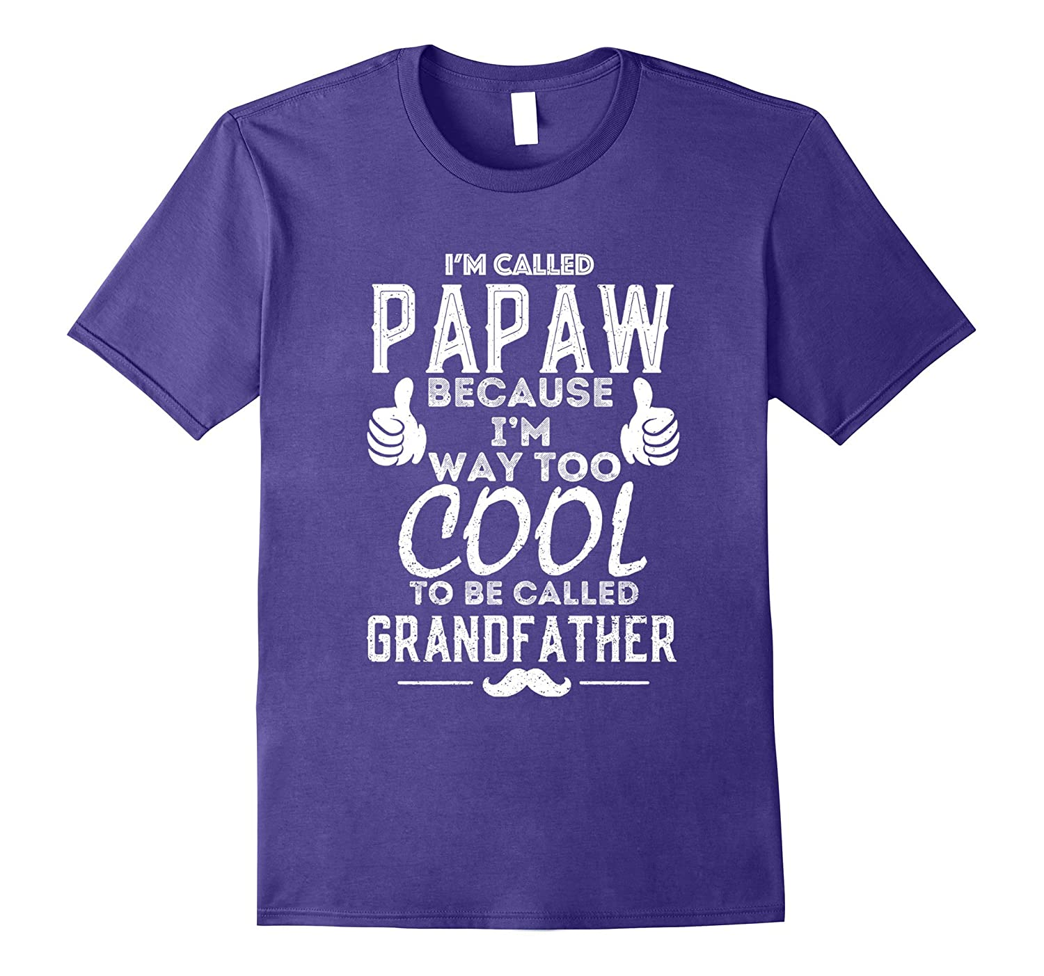 Father's Day Gift Papaw t-shirt-TH