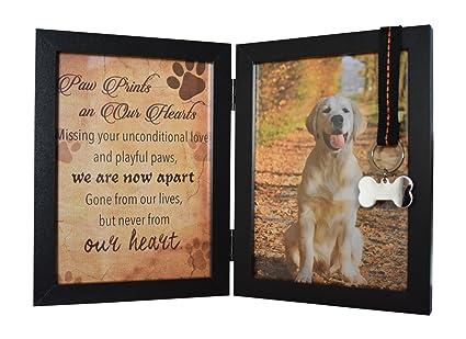 Amazon.com: Pawprints Remembered Pet Memorial 5\