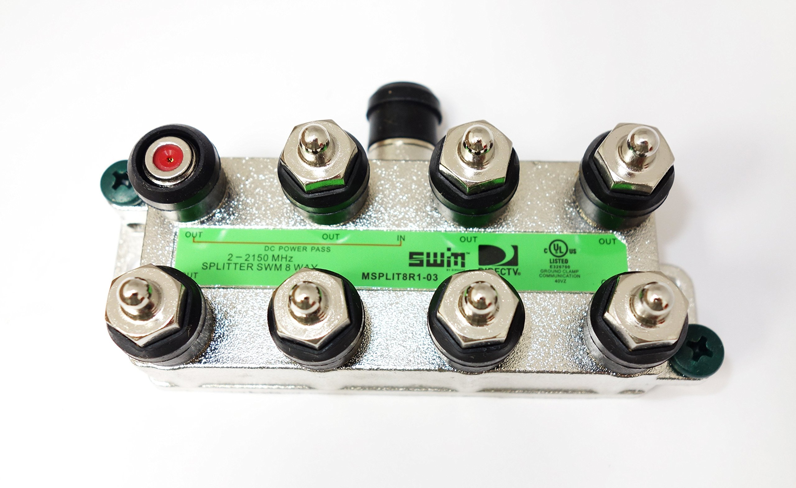 Directv SWM Approved 8-Way Splitter (2)