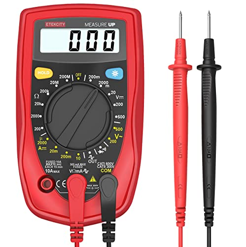 Best Multimeter For Beginner Under $20 - Etekcity MSR-R500