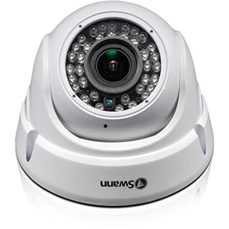 be605f7dc88 Swann SWPRO-1080ZLD-UK 1080P 4 x Zoom Autofocus Dome Camera - White   Amazon.co.uk  DIY   Tools