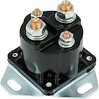 Rel/é El/éctrico Unidad de Solenoide de Rel/é de Arranque de Repuesto para 350 YFM350 1987-1999 Accesorio