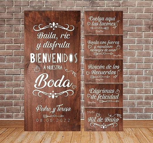 setecientosgramos Decoración Boda | Pack Carteles de Boda ...