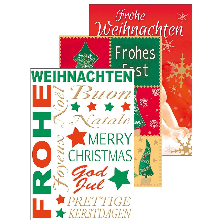 motivo natalizio Susy Card 11335627 Biglietti di natale confezione da 20