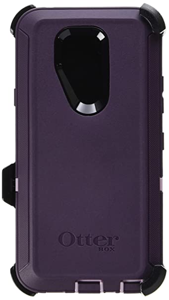 cheap for discount 35bda 3b353 OtterBox Defender Series Case for LG G7 ThinQ - Retail Packaging - Purple  Nebula (Winsome Orchid/Night Purple)