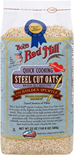 product image for Bob's Red Mill Quick Cooking Steel Cut Oats, 22 Ounce