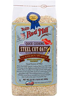 Bobs Red Mill Steel Cut Quick Cook Oats, 22 oz