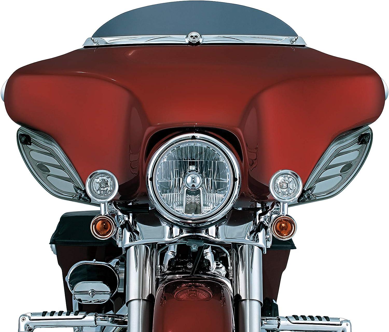 Fairing Mounted H3 Halogen Lamp Driving Lights with Turn Signal//Blinker Light for 1997-2019 Harley-Davidson Motorcycles 1 Pair Kuryakyn 5005 Motorcycle Lighting Chrome