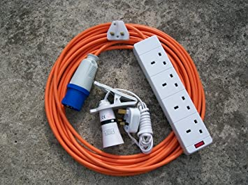 electric hook up for campers
