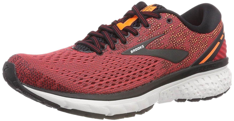 Brooks Ghost 11, Zapatillas de Running para Hombre 42.5 EU|Rojo (Red/Black/Orange 677)