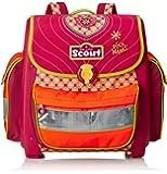 Scout Schulranzen-Set Basic Buddy Set 4 tlg Pink Heart 36 cm Pink 72400778700