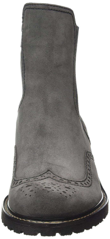 Gabor Damen (Dark Comfort Basic Kurzschaft Stiefel  Grau (Dark Damen Grau (Mel.) 39) 74967f