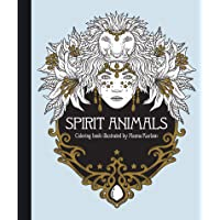 Spirit Animals Coloring Book: Published in Sweden As Själsfränder