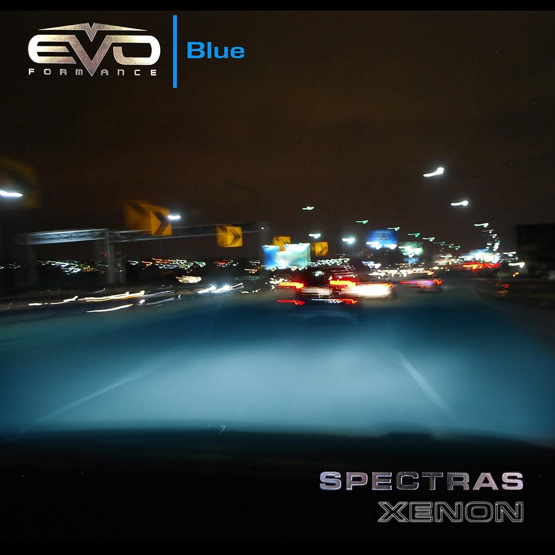 EVO Formance 93413 Spectras 9005 75W=100W Blue Halogen Bulb Pack of 2