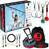 Slackers Slackers - NinjaLine 36' Intro Kit Outdoor Climbing Play