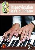 Improvisation jazz au piano en 3D (1 Livre + 1 CD + 1 DVD)