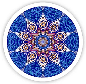 "Mandala #2 - Laptop Stickers - 2.5"" Vinyl Decal - Laptop, Phone, Tablet Vinyl Decal Sticker"