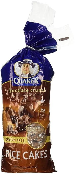 Quaker Chocolate Rice Cake 7 23 Oz 2 Pk