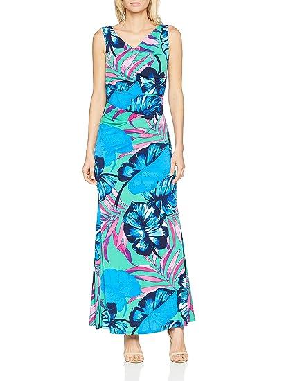 Womens Vita Tropical Print Maxi Party Dress Gina Bacconi 4qwnBEnm
