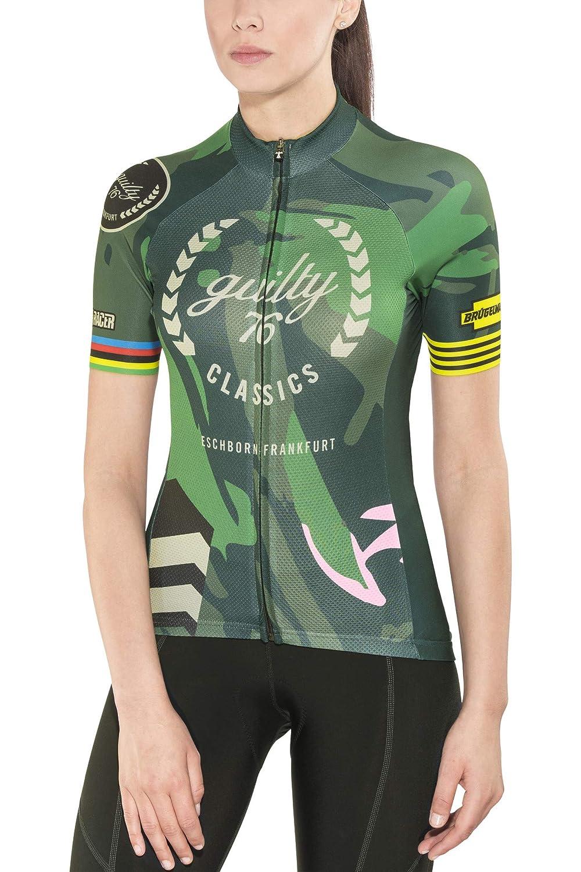 Guilty 76 racing Classic Edition Jersey Damens 2018 Radtrikot kurzärmlig